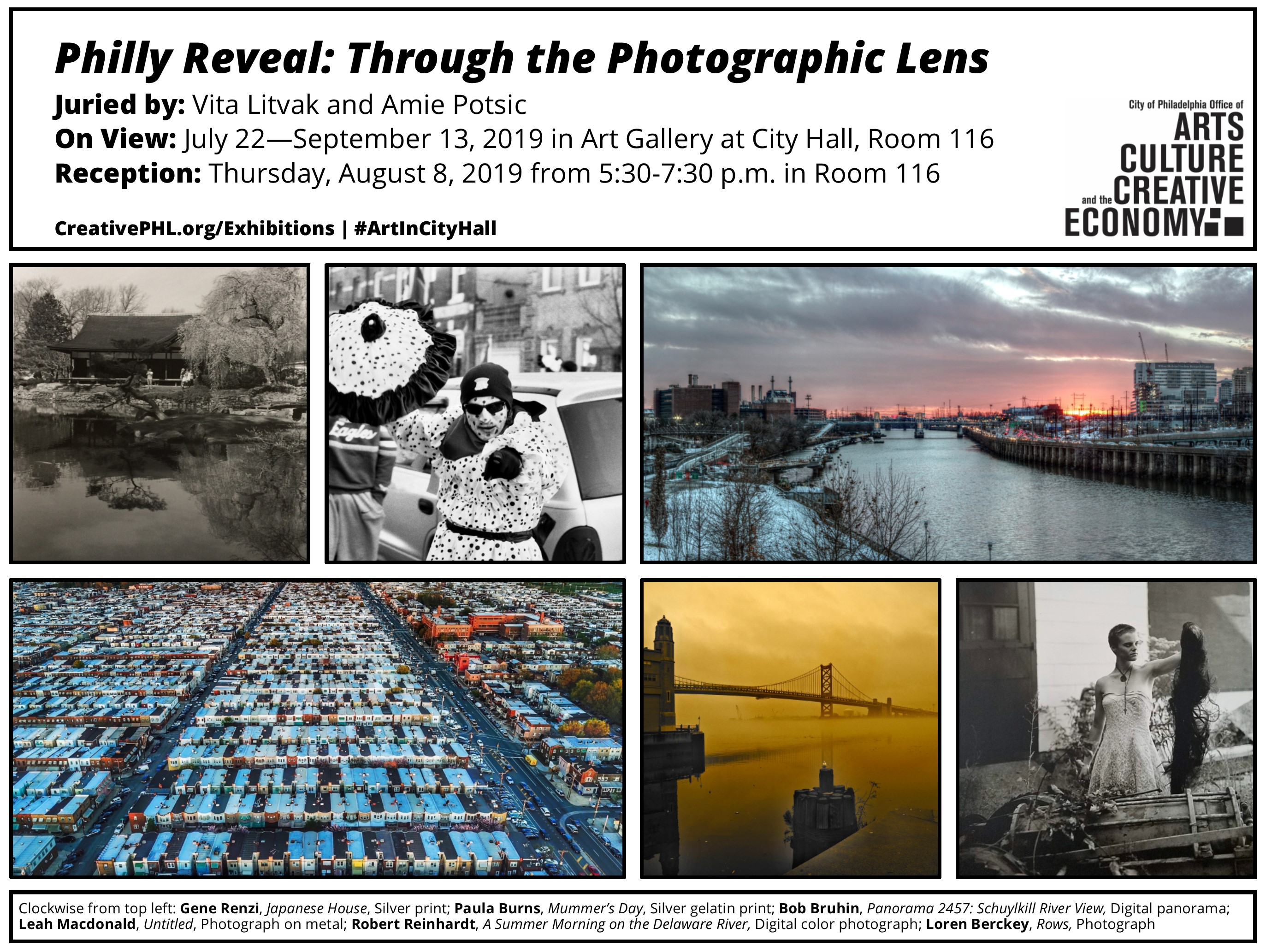 Artist Reception Philly Reveal: Through the Photographic Lens