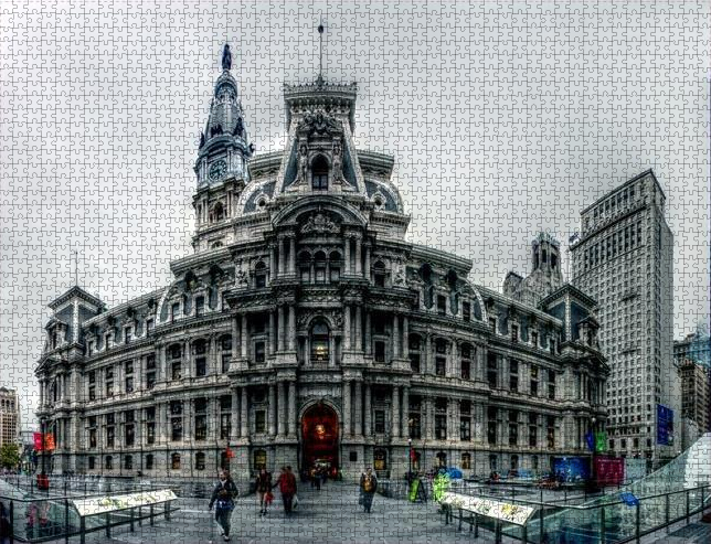 Panorama 2759: Dilworth Park Jigsaw Puzzle