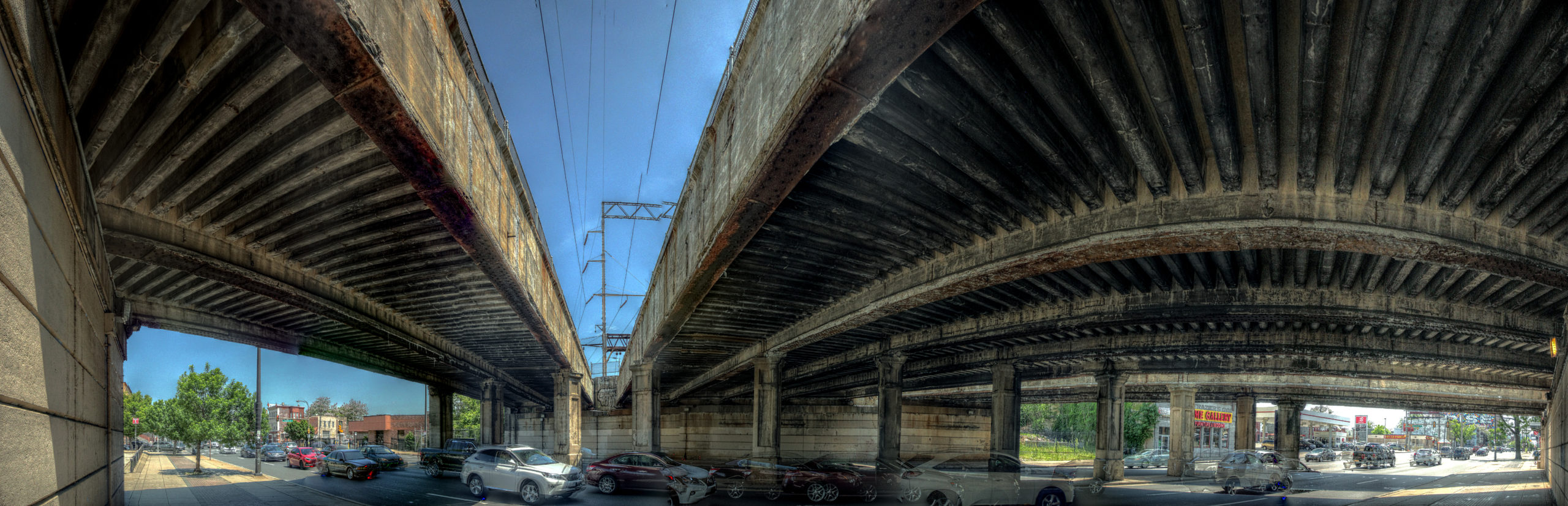 Pennsylvania Railroad Bridge 2988 N Broad Street Philadelphia, PA Copyright 2019, Bob Bruhin. All rights reserved.