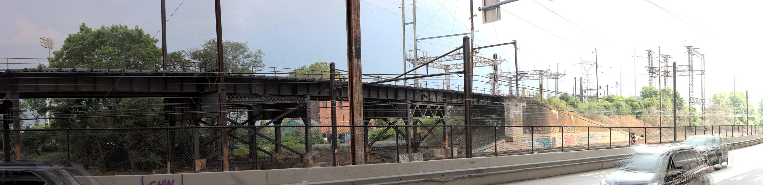 West Philadelphia Elevated Branch Health Sciences Dr Philadelphia, PA Copyright 2019, Bob Bruhin. All rights reserved.