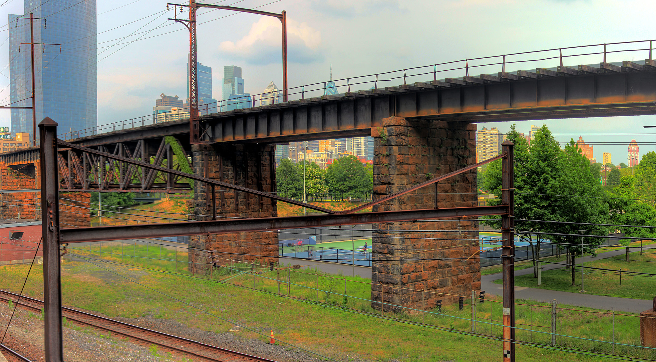 West Philadelphia Elevated Branch South Street and Convention Avenue Philadelphia, PA Copyright 2019, Bob Bruhin. All rights reserved.